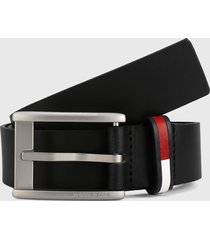 cinturón negro tommy hilfiger