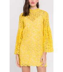 endless rose bell sleeve lace dress