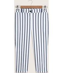 pantalón recto estampado-16