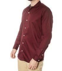camisa vinotinto frank pierce isabelina c2101