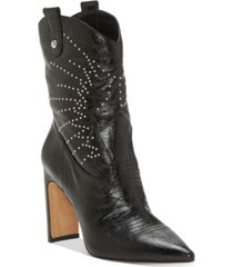 jessica simpson bazil studded booties women's shoes