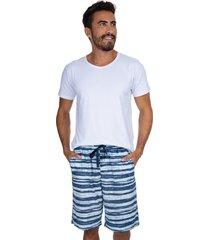 pijama curto inspirate summer multicolorido - kanui