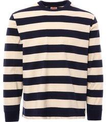 armor lux striped sweatshirt - iroise & nature 76668