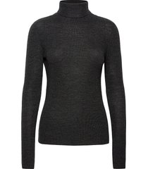 light merino knit turtleneck coltrui zwart ganni