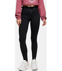 washed black belt loop joni skinny jeans - washed black