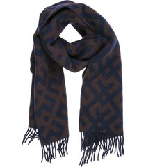 emporio armani monster wool scarf