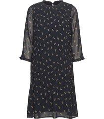 ziri dress knälång klänning blå inwear