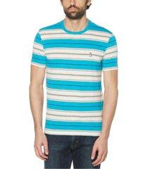 original penguin men's horizontal stripe short sleeve t-shirt