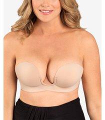 fashion forms voluptuous u-plunge backless bra mc710