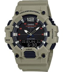reloj casio modelo hdc700-3a3vdf verde hombre