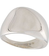 bar jewellery calla chunky ring - silver