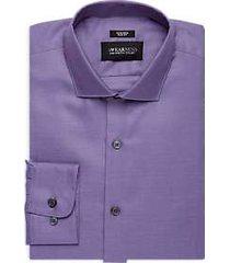 awearness kenneth cole lavender slim fit dress shirt
