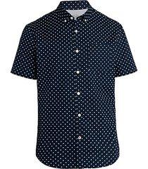 star-print short-sleeve shirt
