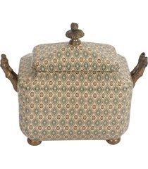 caixa de porcelana hank