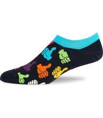 happy socks men's thumbs up low socks - dark grey