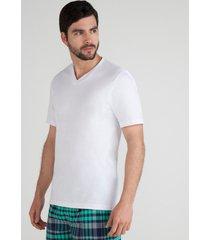 camiseta interior cuello v combo x2  surtido s