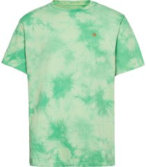 marble cut and sew tee harbor teal t-shirts short-sleeved grön converse