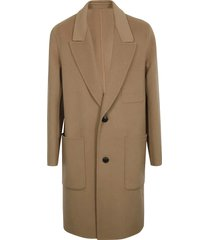 ami alexandre mattiussi unstructured two buttoned coat