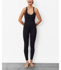 mango women's long stretch jumpsuit