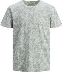 jack & jones t-shirt gemêleerd groen plus size