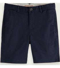 scotch & soda pima chino shorts