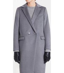 płaszcz z włoskiej wełny