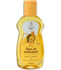 óleo de amêndoas pele rosto corpo cabelos biomátika 100ml
