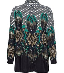 inessa blouse blouse lange mouwen multi/patroon masai