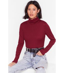 womens a little bit of me ribbed crop top - wine