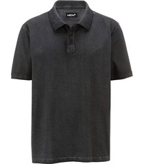 poloshirt men plus donkergrijs