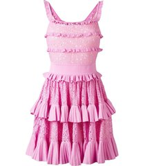 antonino valenti melissa skater dress - pink