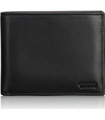 men's tumi delta global id lock(tm) shielded removable passcase id wallet - black