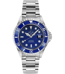 gv2 men's liguria swiss automatic stainless steel diver watch