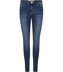 jacky luxury donkerblauwe jeans model skinny
