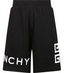 givenchy branded bermuda shorts