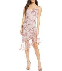 women's chi chi london lilliana embroidered mesh cocktail dress