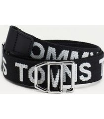 tommy hilfiger women's recycled tommy jeans belt black - 40