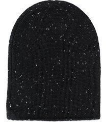 bonpoint fine knit beanie - black