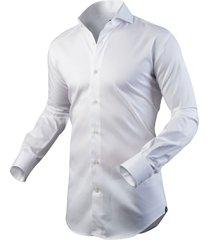 circle of gentlemen heren overhemd anton cutaway slim fit