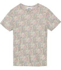 guy flower mesh t-shirt