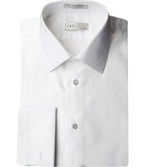 ike by ike behar men's contemporary-fit dress shirt - white - size 14.5