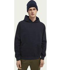 scotch & soda indigo hoodie
