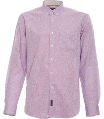 camisa lino lisa lila mcgregor