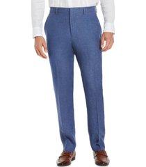 cubavera men's classic-fit delave linen dress pants