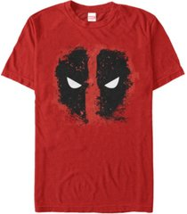 marvel men's comic collection deadpool eyes glare short sleeve t-shirt