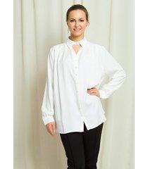 koszula biała z perełkami