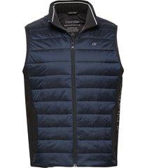 light weight side logo vest vest blauw calvin klein