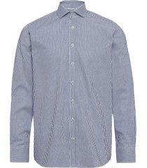 bs gameiro skjorta casual blå bruun & stengade