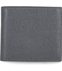 thom browne leather wallet
