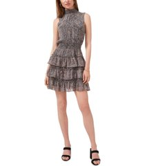 1.state smocked tiered dress